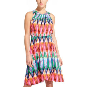 Athleta Ikat Martinique Sleeveless Dress